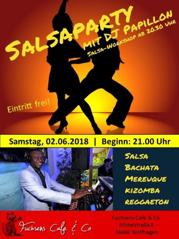 Salsa Party 02.06.2018